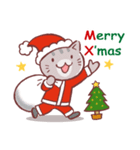 クリスマス色の猫たち(個別スタンプ:06)