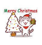 クリスマス色の猫たち(個別スタンプ:09)
