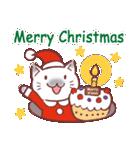 クリスマス色の猫たち(個別スタンプ:10)