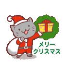 クリスマス色の猫たち(個別スタンプ:11)