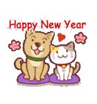 クリスマス色の猫たち(個別スタンプ:31)