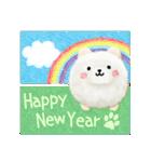 年末年始に使える★イヌのスタンプ★お正月(個別スタンプ:02)
