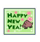 毎年使える!!干支の!あけましておめでとう!(個別スタンプ:24)