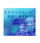 white christmas & happy new year.(個別スタンプ:16)