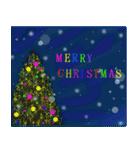 white christmas & happy new year.(個別スタンプ:22)