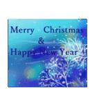 white christmas & happy new year.(個別スタンプ:25)
