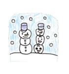 でんとくん&むしばマン クリスマス(個別スタンプ:14)