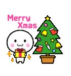 いつでも使える白いやつ(クリスマス&正月)(個別スタンプ:2)