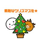 いつでも使える白いやつ(クリスマス&正月)(個別スタンプ:3)