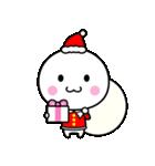 いつでも使える白いやつ(クリスマス&正月)(個別スタンプ:4)