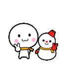 いつでも使える白いやつ(クリスマス&正月)(個別スタンプ:29)