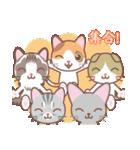 NEW YEAR 2018〜三毛猫とオート三輪(個別スタンプ:11)