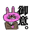 ぴょいーんちゃんスタンプ(個別スタンプ:25)