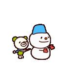 シャカリキくま4(冬編)(個別スタンプ:11)