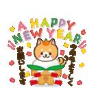 【戌年】柴犬のお正月&日常2018(個別スタンプ:01)