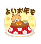 【戌年】柴犬のお正月&日常2018(個別スタンプ:10)