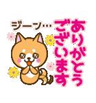 【戌年】柴犬のお正月&日常2018(個別スタンプ:32)