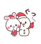 ❤️すきすぎるうさぎ❤️クリスマス&お正月(個別スタンプ:06)