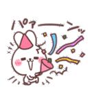 ❤️すきすぎるうさぎ❤️クリスマス&お正月(個別スタンプ:22)