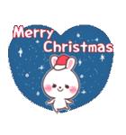 ❤️すきすぎるうさぎ❤️クリスマス&お正月(個別スタンプ:31)