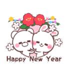 ❤️すきすぎるうさぎ❤️クリスマス&お正月(個別スタンプ:37)