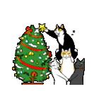 おはぎ(動)クリスマス&お正月(個別スタンプ:10)