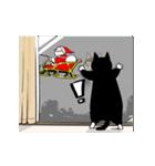 おはぎ(動)クリスマス&お正月(個別スタンプ:11)