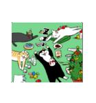 おはぎ(動)クリスマス&お正月(個別スタンプ:12)