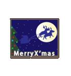 素敵なクリスマスとお正月(個別スタンプ:09)