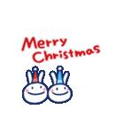 ほぼ白うさぎ5(クリスマス編)(個別スタンプ:01)
