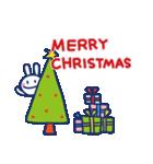 ほぼ白うさぎ5(クリスマス編)(個別スタンプ:02)