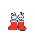 ほぼ白うさぎ5(クリスマス編)(個別スタンプ:17)