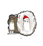 クリスマスバージョンのメジェド(個別スタンプ:12)