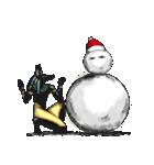 クリスマスバージョンのメジェド(個別スタンプ:25)