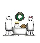 クリスマスバージョンのメジェド(個別スタンプ:37)