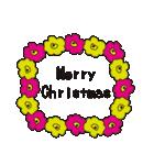 北欧モダン♥黒猫スタンプクリスマス&正月(個別スタンプ:06)