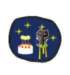 北欧モダン♥黒猫スタンプクリスマス&正月(個別スタンプ:16)