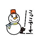北欧モダン♥黒猫スタンプクリスマス&正月(個別スタンプ:27)
