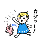 ❤️カタカナ韓国語&日本語会話スタンプ❤️(個別スタンプ:14)