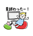 ❤️カタカナ韓国語&日本語会話スタンプ❤️(個別スタンプ:30)
