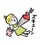 ❤️カタカナ韓国語&日本語会話スタンプ❤️(個別スタンプ:36)