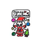 ねこ♡ほっこり クリスマススタンプ(個別スタンプ:05)