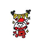 ねこ♡ほっこり クリスマススタンプ(個別スタンプ:08)