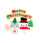 ハムスターのハッピー☆クリスマス(個別スタンプ:01)