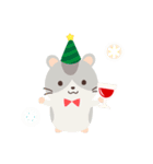 ハムスターのハッピー☆クリスマス(個別スタンプ:11)