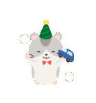 ハムスターのハッピー☆クリスマス(個別スタンプ:15)