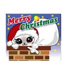シャム猫ちゃん! クリスマスバージョン♪(個別スタンプ:03)