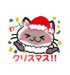 シャム猫ちゃん! クリスマスバージョン♪(個別スタンプ:12)