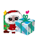シャム猫ちゃん! クリスマスバージョン♪(個別スタンプ:14)