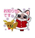 シャム猫ちゃん! クリスマスバージョン♪(個別スタンプ:17)